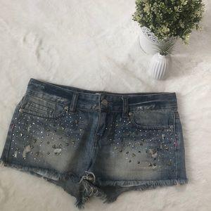 Pink Victoria's Secret Jean Shorts